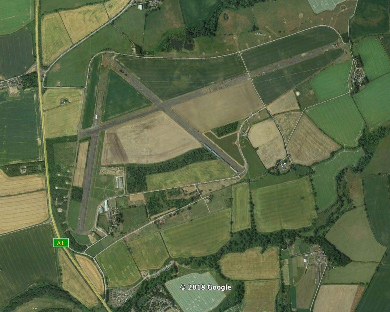 RAF Eshott, Felton